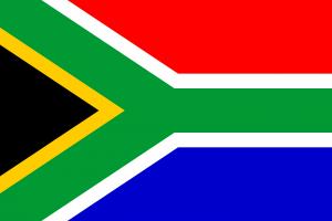 Güney Afrika Cumhuriyeti'nin bugünkü bayrağı