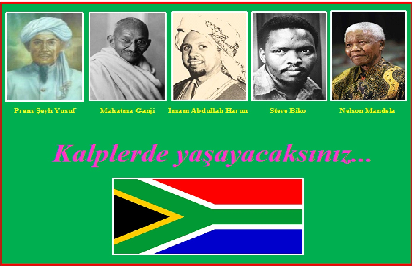 güney afrika logo