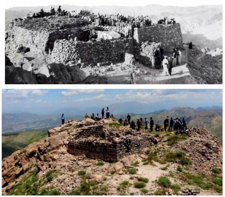 Cudi Dağı ve Hz. Nûh'un gemisinin buldunduğu Sefine Tepesi; 100 yıl önce ve bugün...