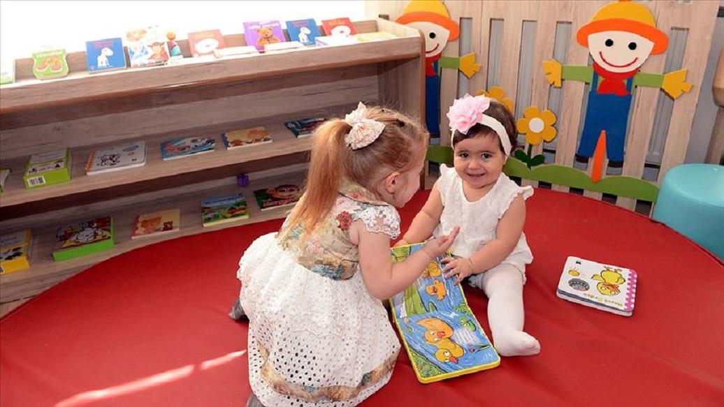 İlk Bebek ve Çocuk Kütüphanesi Tokat'ta Açıldı