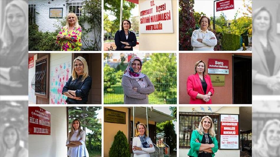 Ankara'nın Mahallelerine Kadın Eli Değdi