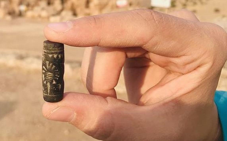 Diyarbakır'daki Kazılarda 3000 Yıllık Asur Mührü Ortaya Çıktı