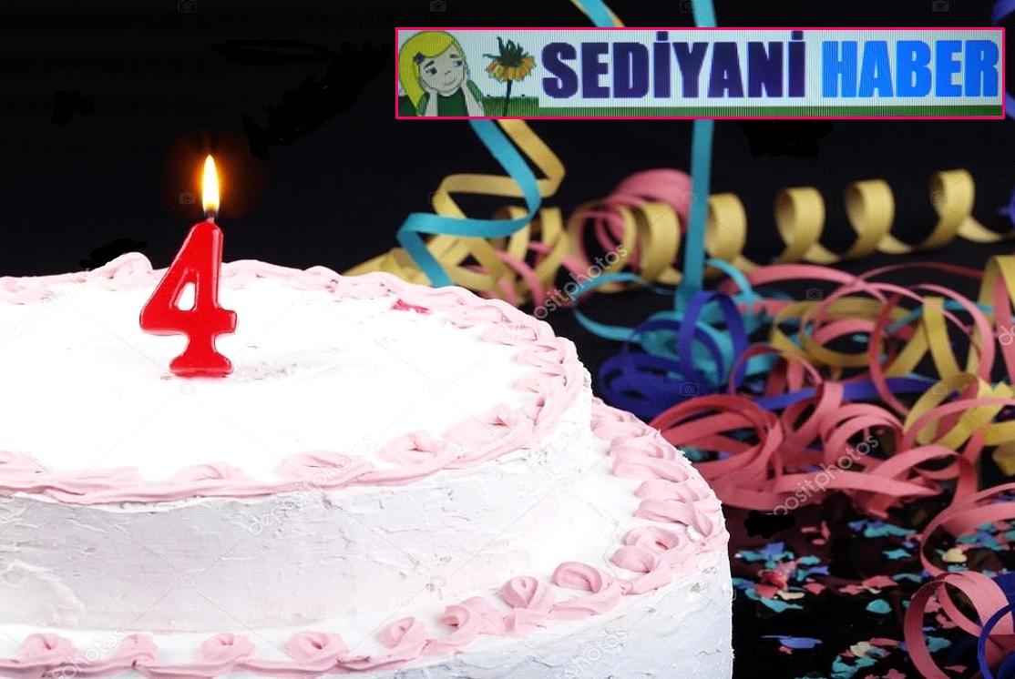 Sediyani Haber 4 Yaşında