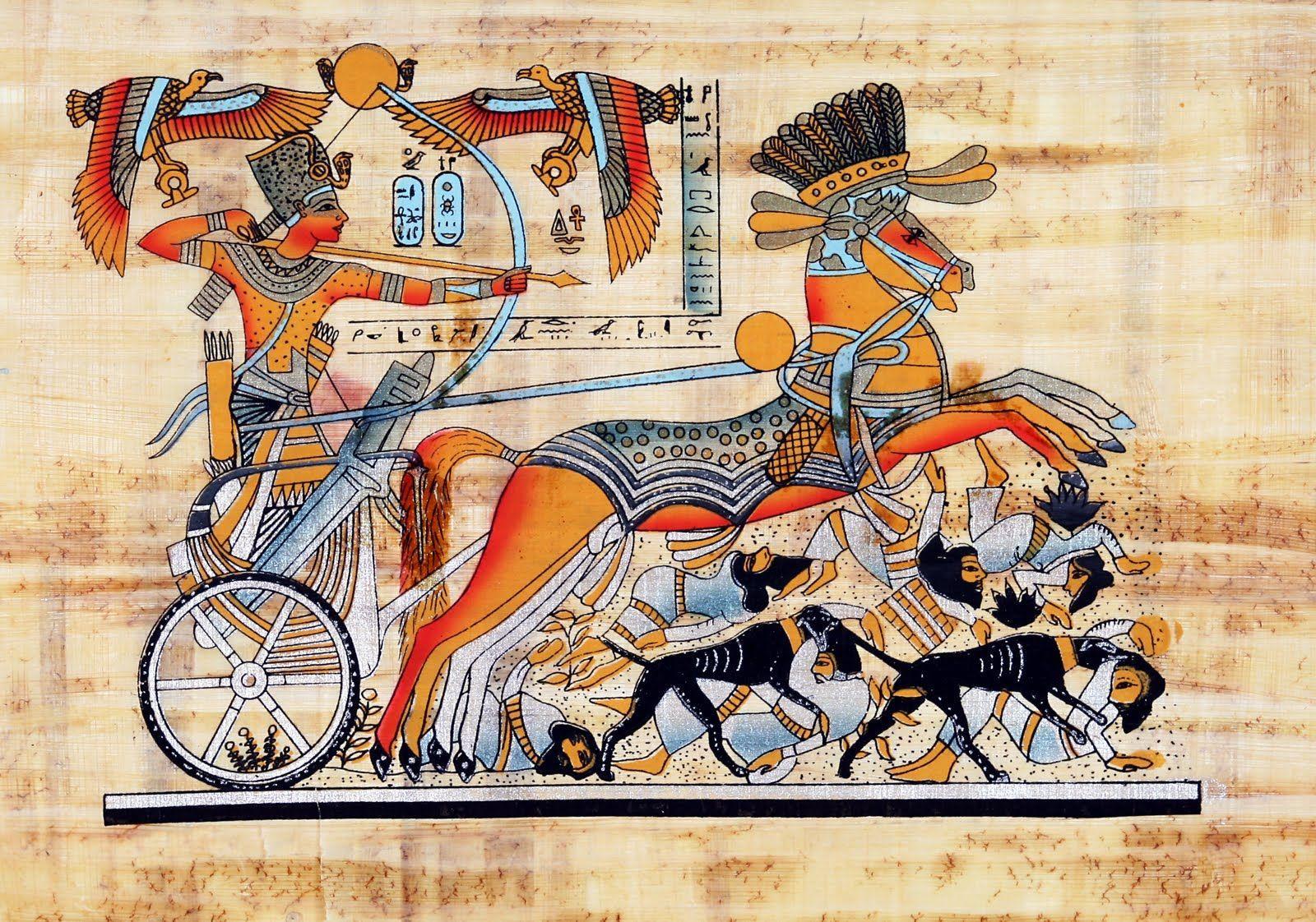 Antik Mısır'da İktidar, Düşündüğümüz Gibi Yabancı İstilâsıyla Değil, İçeriden Devrim ile Yıkılmış