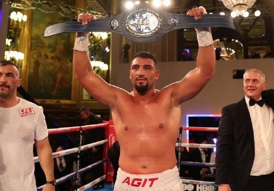 Kürt Boksör Agit Kabayel, Avrupa Ağırsıklet Şampiyonu Oldu