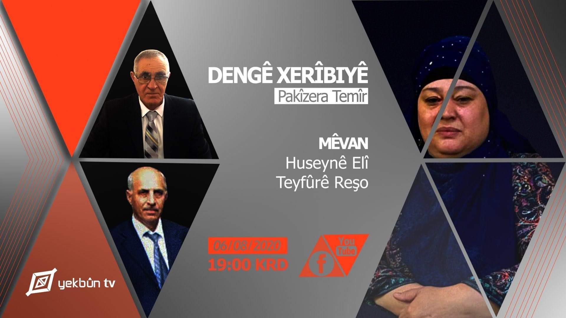 Kafkasya Kürtleri'nin Kurduğu Yekbûn TV Yayın Hayatına Başladı